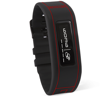 GOQii Fitness Tracker Red-Black