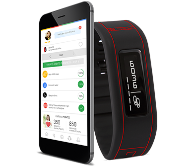 GOQii Fitness Band+App